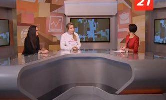 Координаторы проектов в программе телекомпании ТВ-21